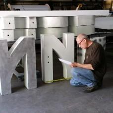 Refurbishing Porcelain Steel Faces
