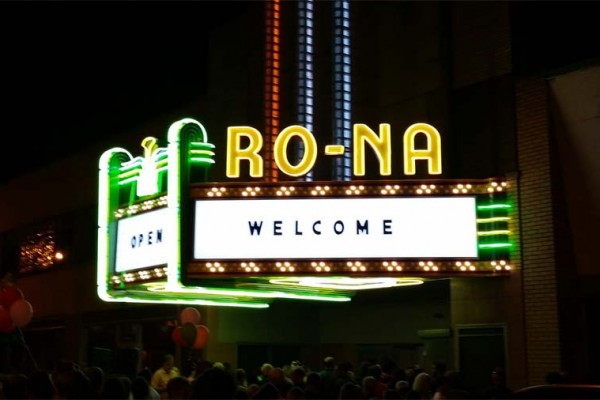 Ro-na Theater Sign Restoration