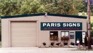 Paris Signs - building two